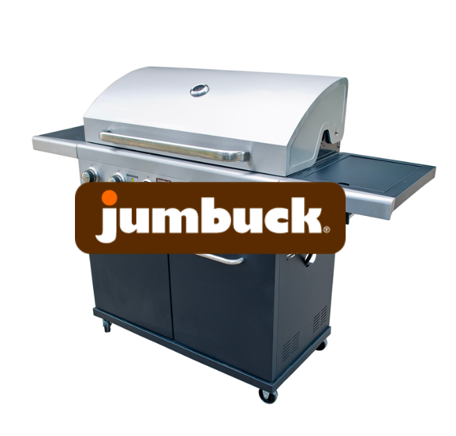 Win a JUMBUCK 6 BURNER & MEAT PACK TO FEED YOUR TEAM WITH QUICKSHARE